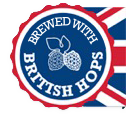 Brewed with British Hops